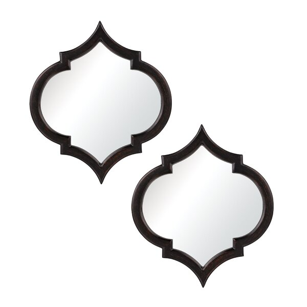 Seville Wall Mirror Set (Set of 2) by Latitude Run