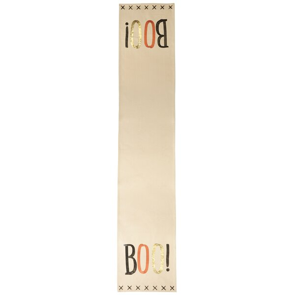 Boo Halloween Sequin Table Runner by Mud Pie™