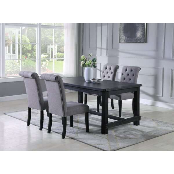 Evelin 5 Piece Dining Set by Charlton Home Charlton Home