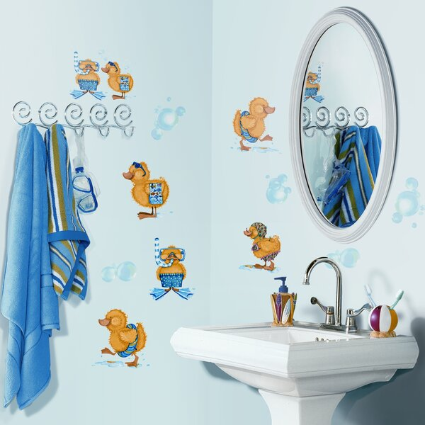 Studio Designs 29 Piece Bubble Bath Wall Decal by Room Mates