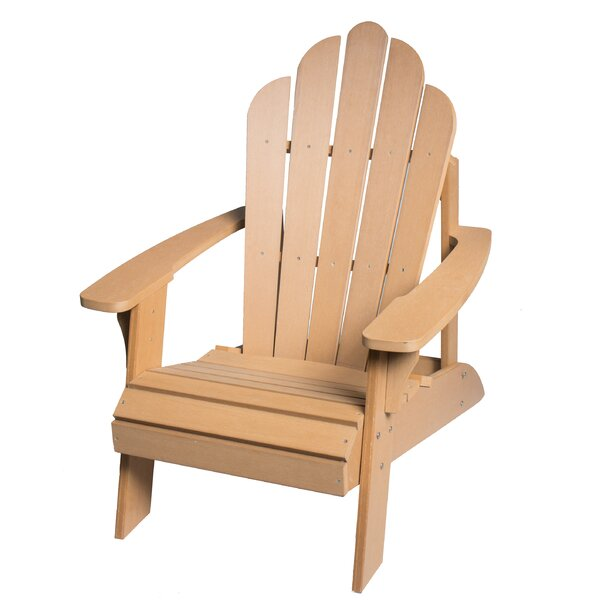 Horncastle Composite Wood Outdoor Adirondack Chair by Highland Dunes