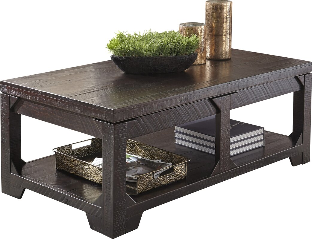 World menagerie skylar lift top coffee table reviews wayfair skylar lift top coffee table geotapseo Image collections