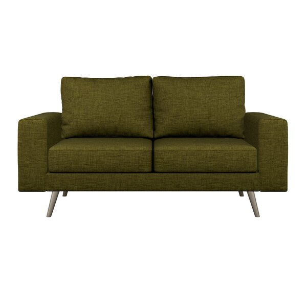 Shop The Best Selection Of Binns Cross Weave Loveseat by Corrigan Studio by Corrigan Studio