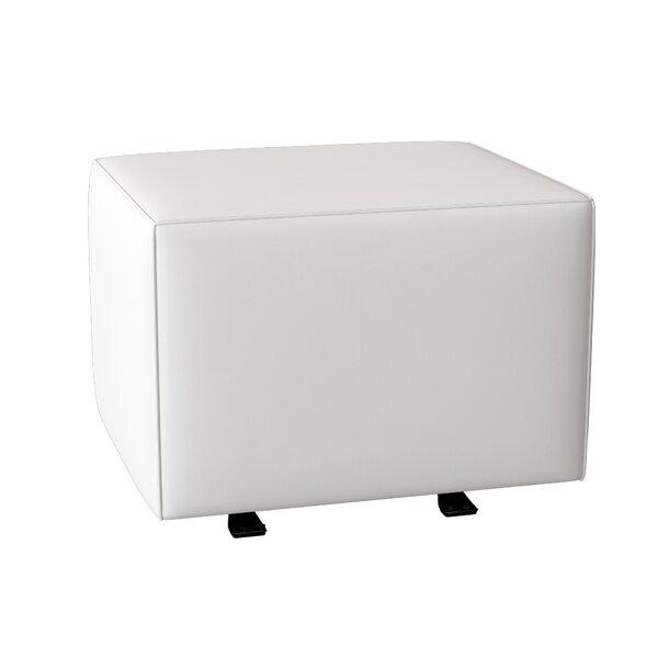Gliding Cube Ottoman by Wayfair Custom Upholstery™