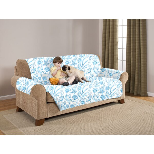 Box Cushion Sofa Slipcover by Pegasus Home Fashions