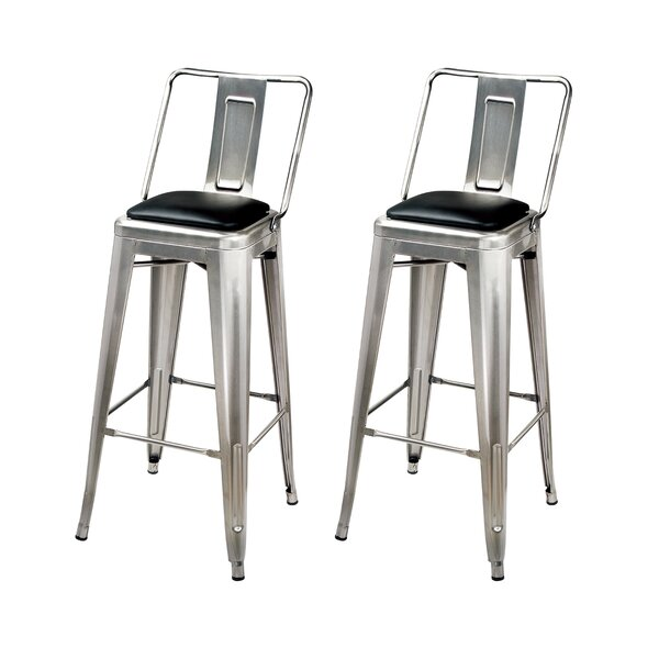 Waterville Counter & Bar Stool (Set of 2) by Williston Forge Williston Forge
