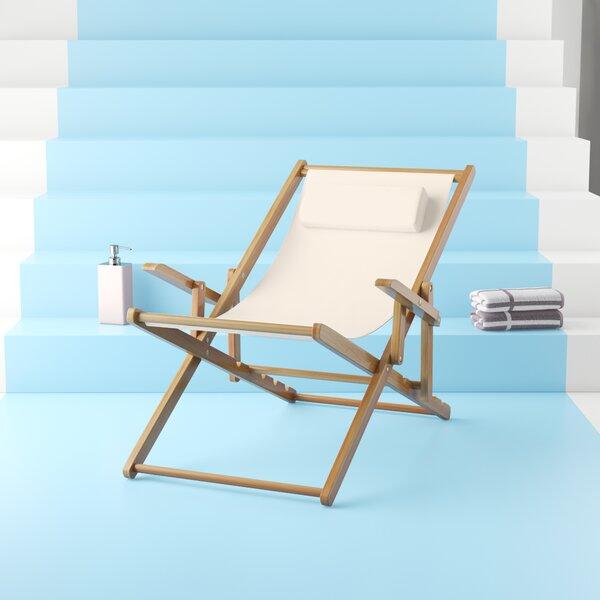 Macaulay Reclining Beach Chair by Hashtag Home Hashtag Home