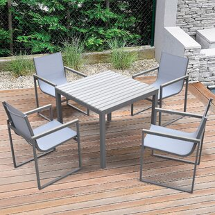 Mhapankar Bistro 5 Piece Dining Set By Latitude Run