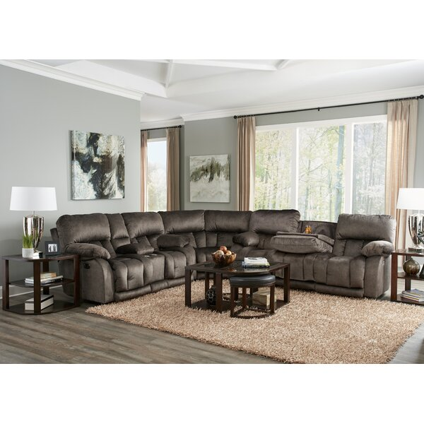 Kendall Reclining Sectional by Catnapper