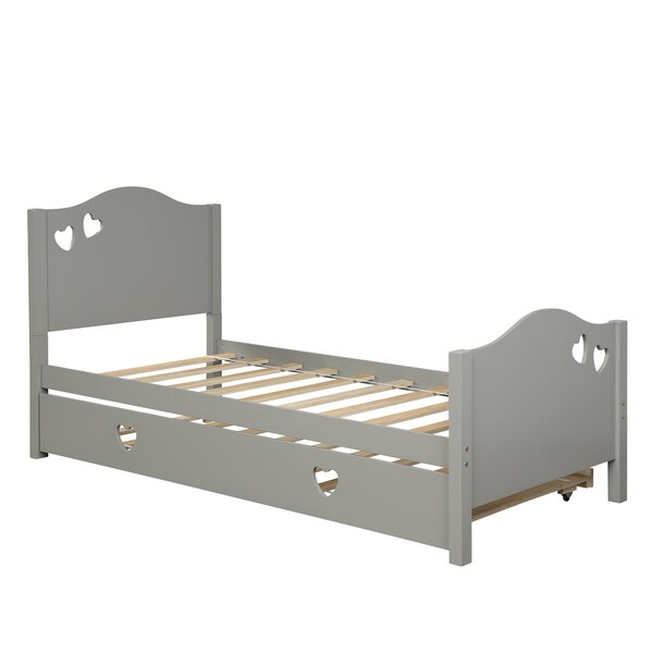 Vandyke Twin Sleigh Bed With Trundle By Canora Grey