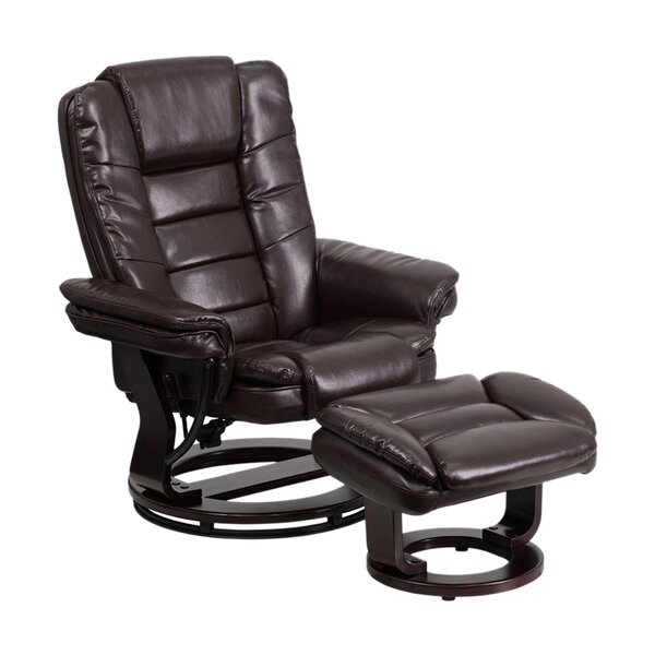 Truce Manual Glider Recliner With Ottoman By Latitude Run