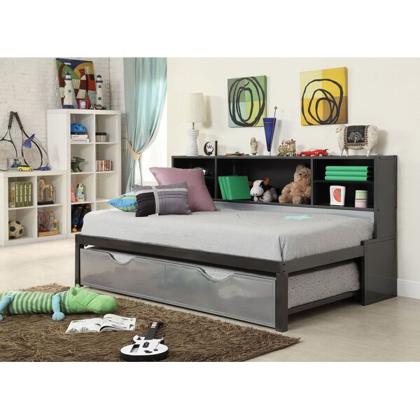 Cramlington Twin Bed and Bookcase and Trundle by Mack & Milo