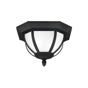 Compare Teri 2-Light Outdoor Flush Mount By Fleur De Lis Living