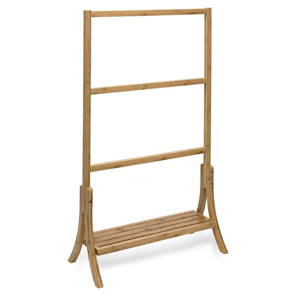 Bamboo Towel Stand by Honey Can Do