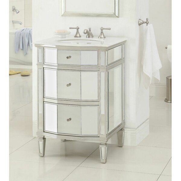Beachmere 24 Single Bathroom Vanity Set By Rosdorf Park.