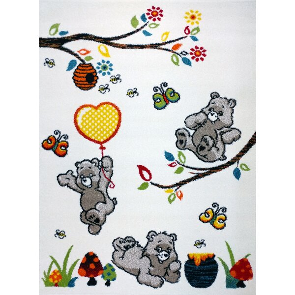 Antoinette Bedroom Decor Area Rug by Zoomie Kids