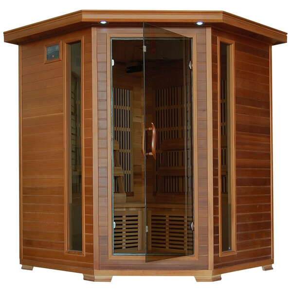 Puretech Low EMF 4 Person FAR Infrared Sauna by Radiant Saunas