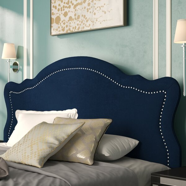 Pittsford King Upholstered Panel Headboard by Mistana