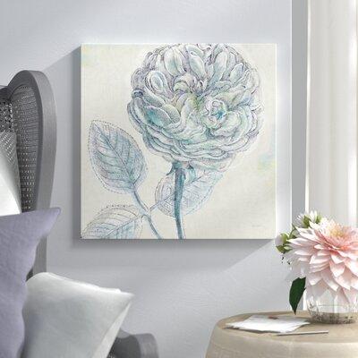 "Belle Fleur III Graphic Art on Wrapped Canvas Lark Manor Size: 18"" H x 18"" W x 1.5"" D"