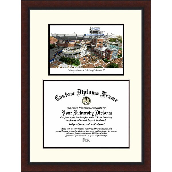 NCAA University of Florida, the Swamp Legacy Scholar Picture Frame by Campus Images