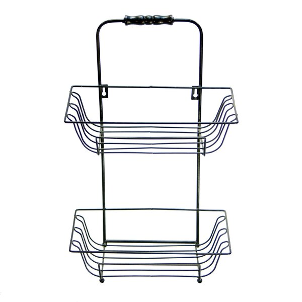 12 W Wall Mounted Bathroom Shower Caddy by American Mercantile