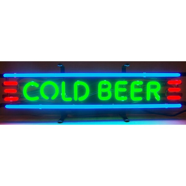 Business Signs Cold Beer Neon Sign by Neonetics