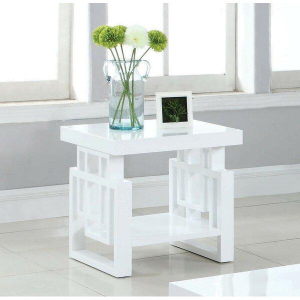 Pinon End Table by Brayden Studio