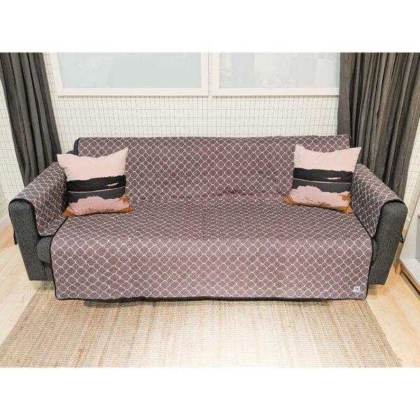 Lattice Rough Gem Box Cushion Loveseat Slipcover