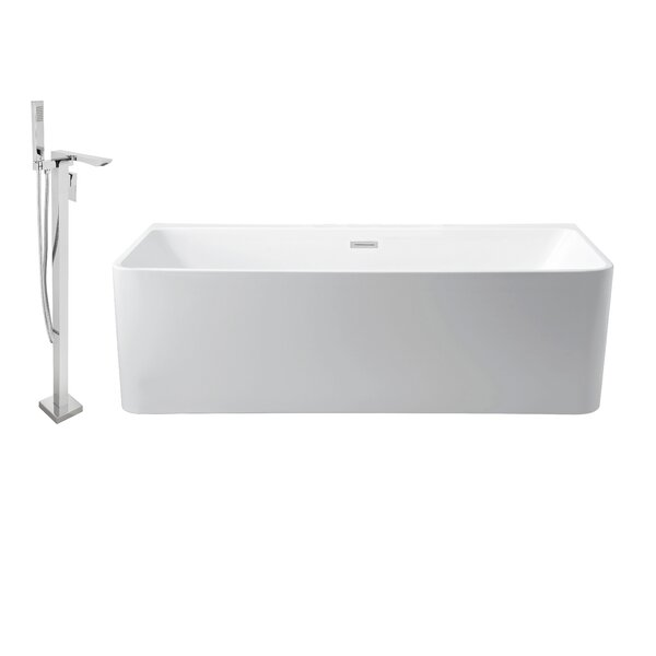 59 x 28 Alcove Soaking Bathtub by Wildon Home ®