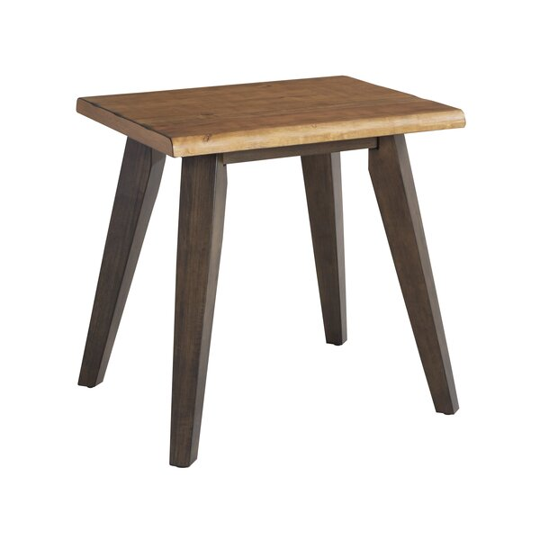 Oliveira End Table by Union Rustic