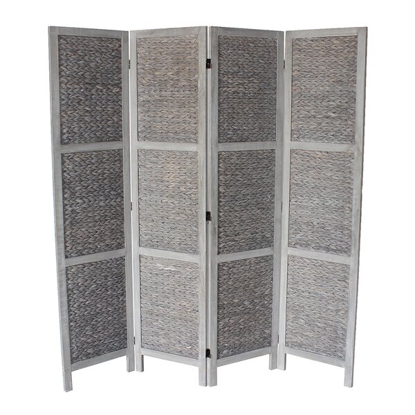 Chelmsford 4 Panel Room Divider by Rosecliff Heights