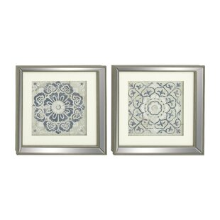 Polystone Mirror Framed Wall Art Set (Set of 2)  sc 1 st  Birch Lane & Wall Art | Birch Lane