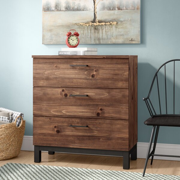 Jaiden 3 Drawer Chest by Laurel Foundry Modern Farmhouse