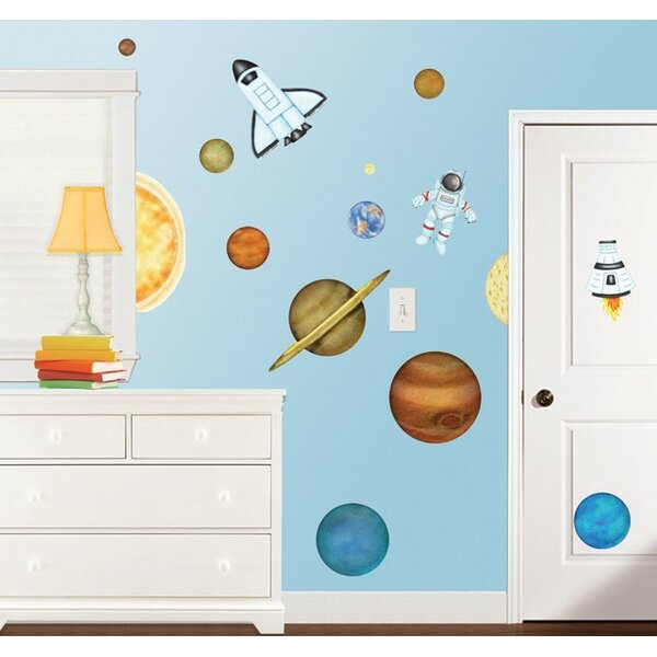 In Outer Space Super Jumbo Appliqué Wall Decal by Borders Unlimited