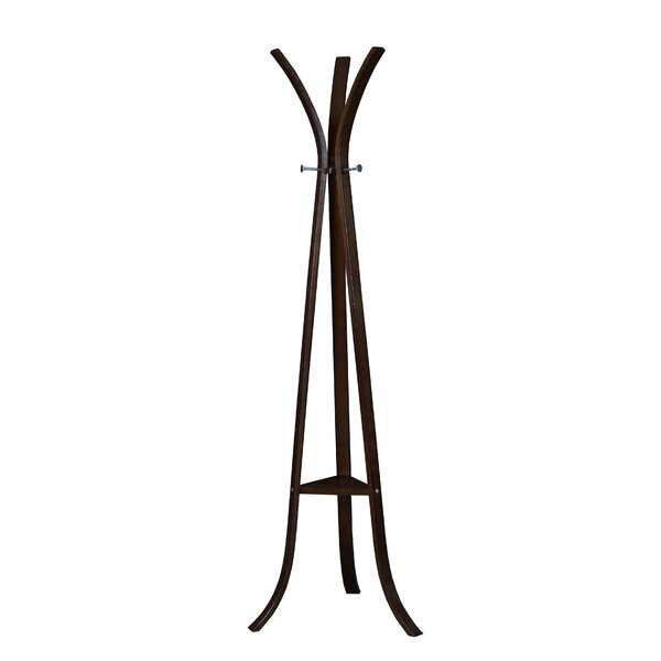Castillo Bentwood Coat Rack by Rebrilliant