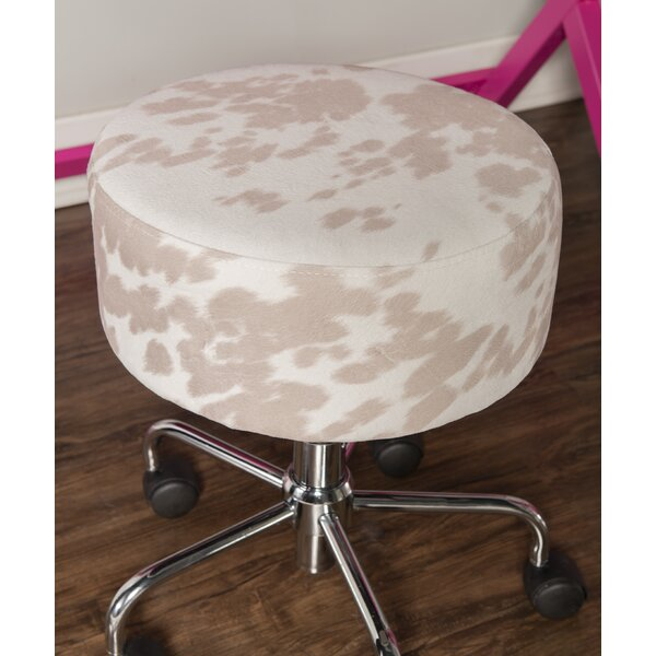 Swell Rolling Adjustable Desk Stool Wayfair Gmtry Best Dining Table And Chair Ideas Images Gmtryco