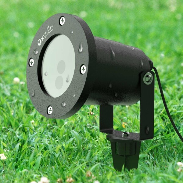 Remote Control Lawn Laser Strobe Light by OxyLED