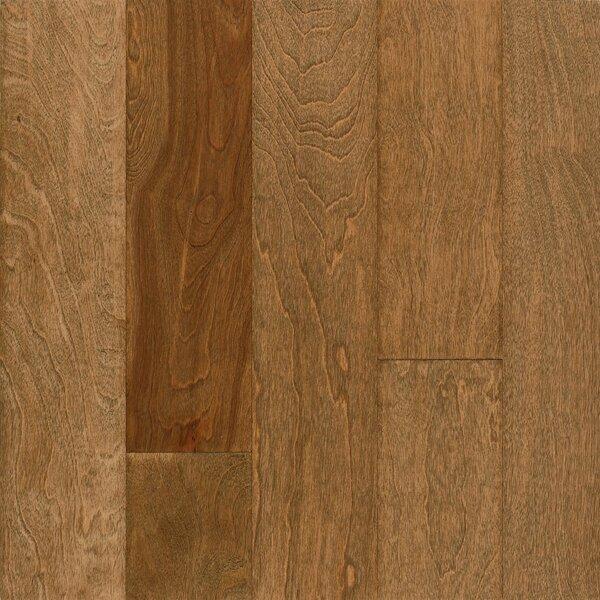 Frontier 5 Engineered Birch Hardwood Flooring in Praline by Armstrong Flooring