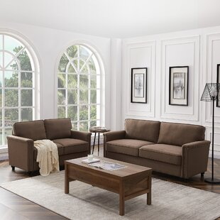 Fiske 2 Piece Living Room Set by Canora Grey