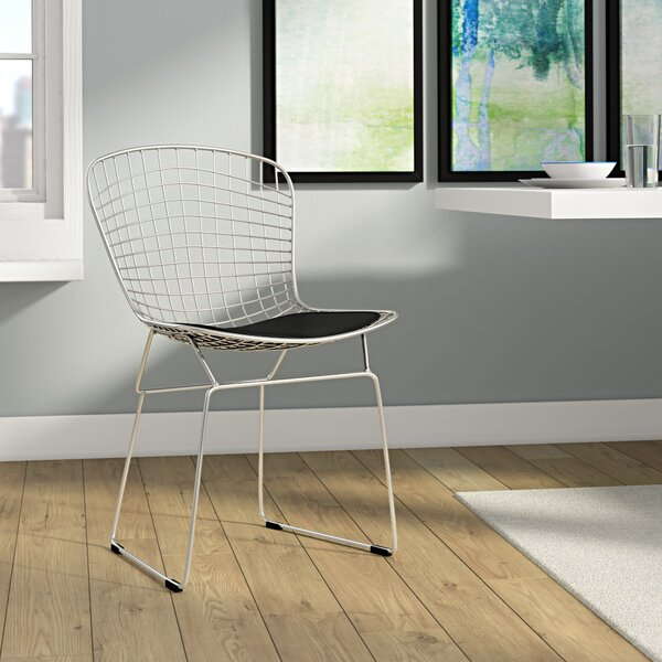 Burkey Wire Dining Chair by Ivy Bronx