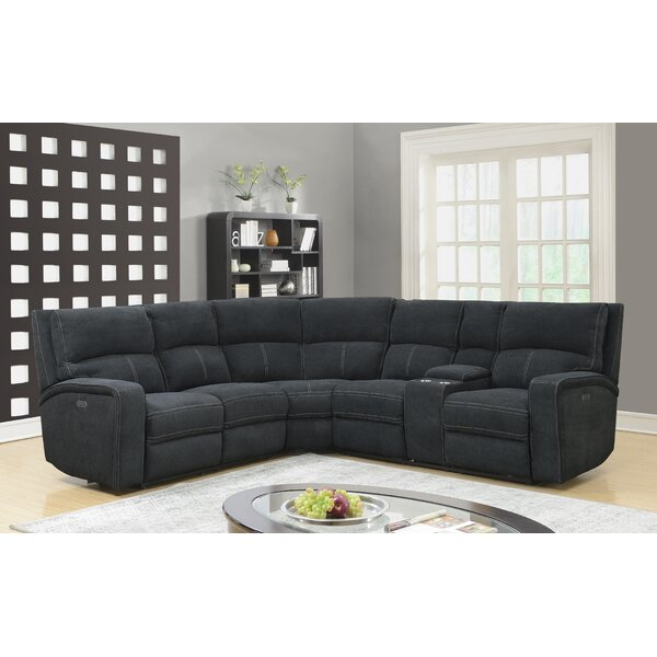 Stephan Reclining Sectional by Ebern Designs