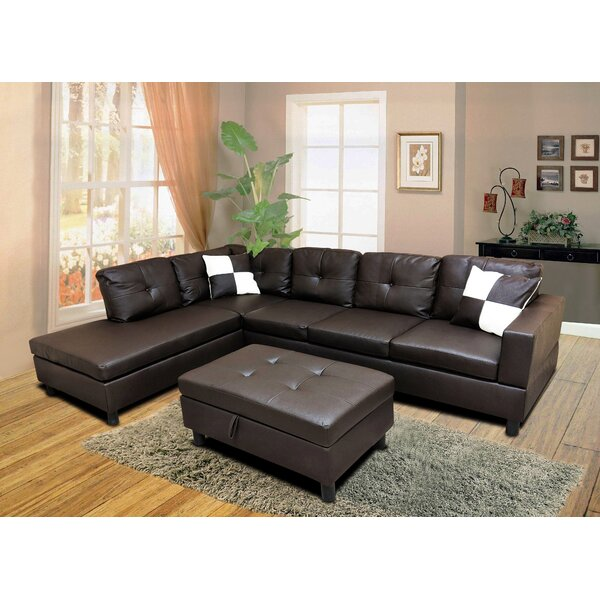 Roughton Modular Sectional With Ottoman By Winston Porter 2019 Online