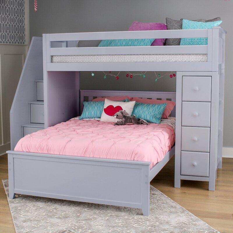 Bedroom L Shaped Bunk Bed