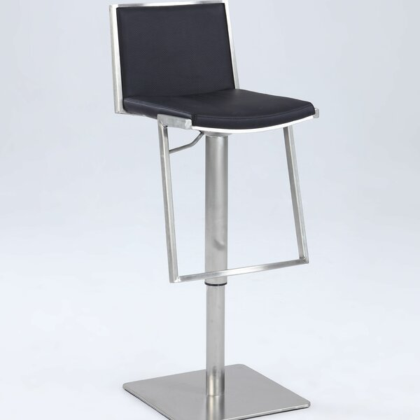 Jorman Adjustable Height Bar Stool by Orren Ellis Orren Ellis