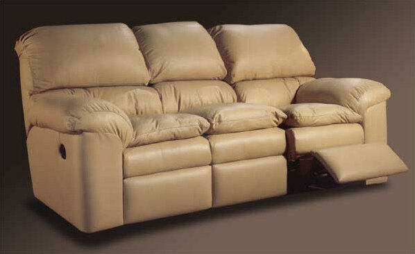 Buy Fashionable Catera Reclining Sofa by Omnia Leather by Omnia Leather