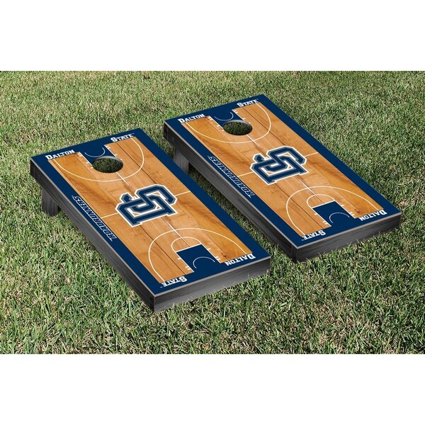 NAIA Basketball Court Version Cornhole Game Set by Victory Tailgate