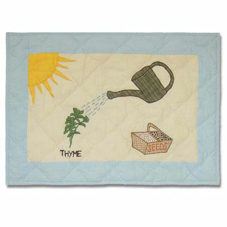 Herb Garden Placemat (Set of 4) by Patch Magic