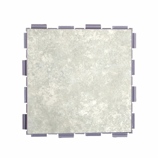 Classic Standard 6 x 6 Porcelain Field Tile in Mist by SnapStone
