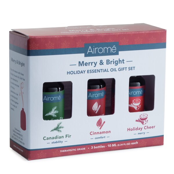 Merry and Bright Holiday 3 Piece Essential Oil by Candle Warmers, Etc.