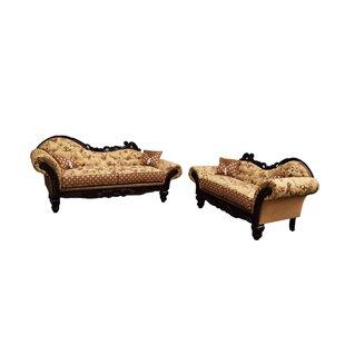 Kaliyah 2 Piece Living Room Set by Astoria Grand